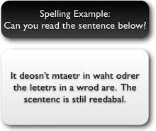 spelling riddle