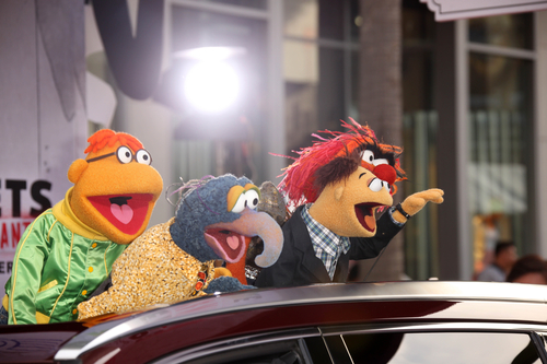 """at the """"Muppets Most Wanted"""" Premiere, El Capitan, Hollywood, CA 03-11-14"""